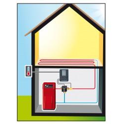 Bloc alimentation électrique pour AUTOMIX plancher chauffant