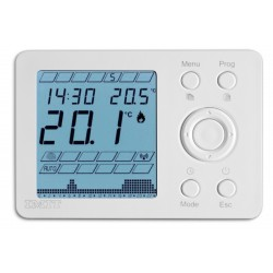Thermostat d'ambiance transmission radio programmable FLUSSOSTAT