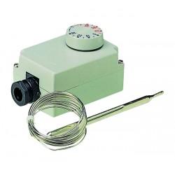 Thermostats sonde extérieure et capillaire étanches pour locaux humides