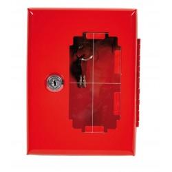 Boîte à clés coffret rouge