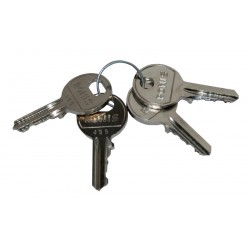 Jeu de clés normalisées H 520 pour boitier métallique