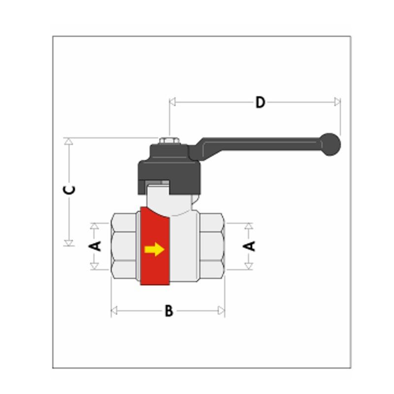 Vanne ballstop chauffage avec clapet antithermosiphon - Clapet anti siphon fonctionnement ...