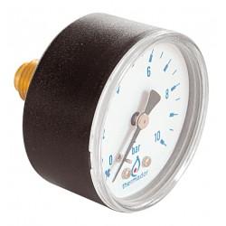 Manomètre axial raccord au dos à 6h DN50