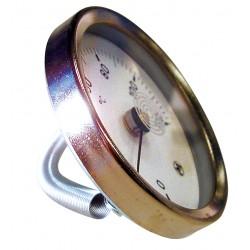 Thermomètre applique à ressord D63