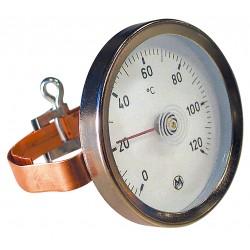 Thermomètre applique à bracelet D63