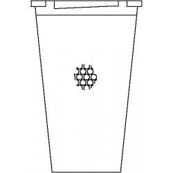 Elément filtrant oventrop Bronze fritté Sika 0, 50 - 100 µm