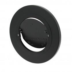 Stabilisateur de tirage MODERATOR peinture époxy, polyester noir mat pour conduit de fumée