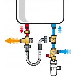 Kit de sécurité KMIX pour chauffe-eau vertical