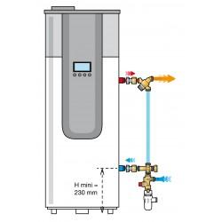 Kit de sécurité KMIX pour chauffe-eau thermodynamique