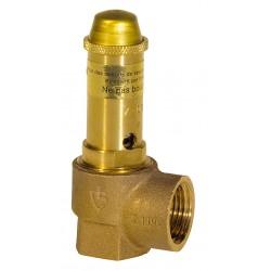 Soupape de sécurité sanitaire bronze
