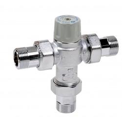 Mitigeurs thermostatiques NF 5217 avec sécurité anti brulure