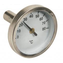 Thermomètre pour collecteur série STC (sans doigt de gant)