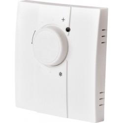 Thermostat d'ambiance analogique radio IP20 à piles
