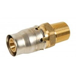 Raccord Mâle fixe Alpex Plus pour tubes multicouches