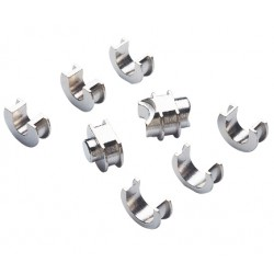 Jeux d'adaptateurs pour pince de montage pour tube Diamètre 12 à 25
