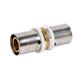 Raccord manchon égal à sertir type radial pour PER ou PB