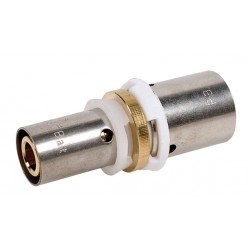 Raccord manchon inégal à sertir type radial pour PER ou PB