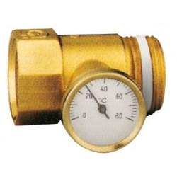 Porte-thermomètre avec thermomètre