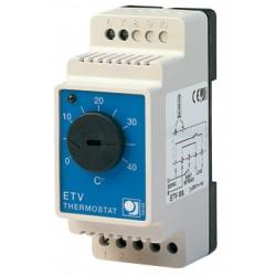 C ble chauffant autor gulant autoc ble application hors gel for Thermostat exterieur hors gel