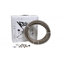 "Kit couronne tube inox 15 mètres Dn16 + 10 raccords 3/4"""