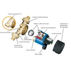 Joint corps/moteur pour circulateur VORTEX