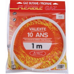 Flexibles Gaz Butane - Propane validité 10 ans