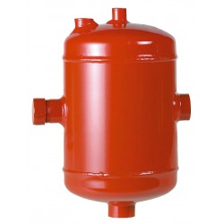 Pot + décantation acier pour installations domestiques avec déflecteur