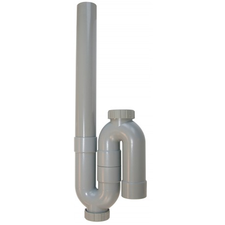 Siphon pvc vertical machine laver 40mm - Lave vaisselle 40 cm de large ...