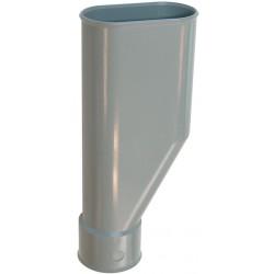 Entonnoir PVC horizontal machine à laver / lave vaisselle / lave linge Ø40mm