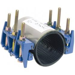 Collier de réparation et de jonction définitive pour tubes rigides 6 tirants