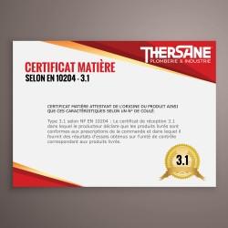 Certificat matière CCPU 3.1