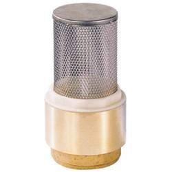 Clapet crépine inox de non-retour maille 12/10° laiton titré CW617N femelle BSP