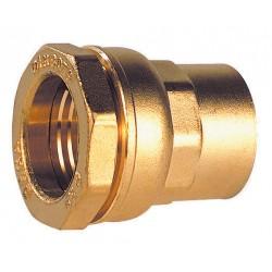 Raccords laiton DECA femelle BSP à serrage extérieur pour tube polyéthylène série fer
