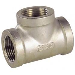 Raccord Té femelle acier inox ASTM A351 CF8M