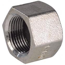 Raccord bouchon femelle hexagonal acier inox ASTM A351 CF8M