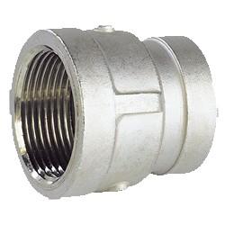 Raccord réduction femelle - femelle acier inox ASTM A351 CF8M