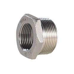 Raccord réduction mâle - femelle acier inox ASTM A351 CF8M