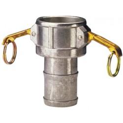 Raccord à cames aluminium coupleur cannelé C