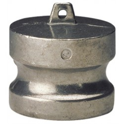 Raccord à cames aluminium bouchon adaptateur DP