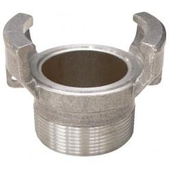 Raccord symétrique aluminium mâle sans verrou BSP