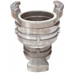 Raccord symétrique aluminium réduction à verrou BSP