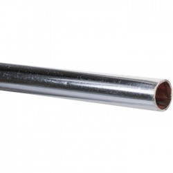 Tube cuivre recuit chromé en barre 2 mètres