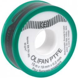 Ruban PTFE spécial gros diamètre