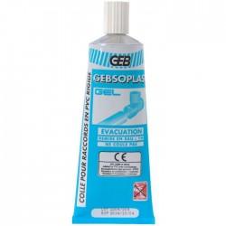 Colle PVC spéciale évacuation GEBSOPLAST GEL tube