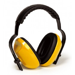 Casque anti-bruit ABS jaune 25 dB