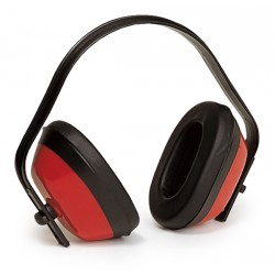 Casque anti-bruit ABS rouge 27dB