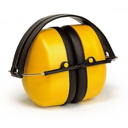 Casque anti-bruit ABS jaune 30 dB