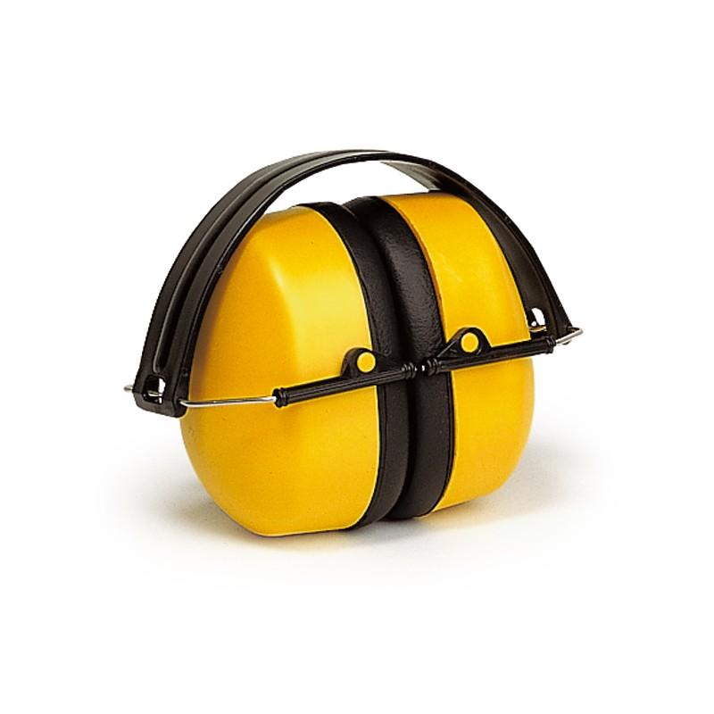casque anti bruit abs jaune 30 db. Black Bedroom Furniture Sets. Home Design Ideas
