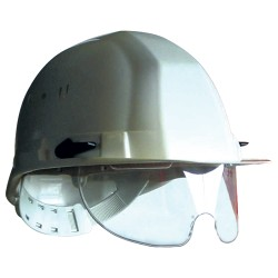 Casque de chantier EARLINE avec lunettes intégrées