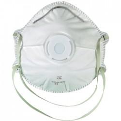 Masque coque avec valve FFP2 SL boîte de 10